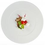 Le capresine saltimbocca con ciliegia e mandorle al sale