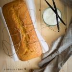 Plumcake allo yogurt, olio extravergine d'oliva e vaniglia Bourbon