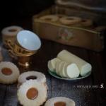 Biscotti di pasta sablée con confettura
