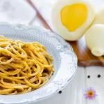 Spaghettoni manteca, cacio e pepe
